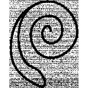 Swirl Doodle Template 011