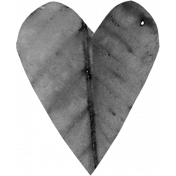 Leaf Heart Template 004