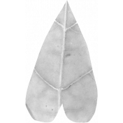 Leaf Heart Template 009