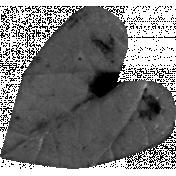 Leaf Heart Template 011