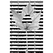 Leaf Template 018