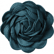 Autumn Day- Teal Flower