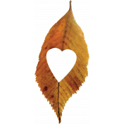 Falling For You- Brown Leaf 3