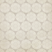 Christmas Day- Cream Doily Paper