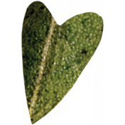 Falling For You- Green Leaf Heart 2
