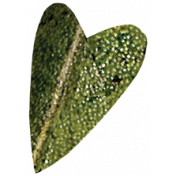 Falling For You- Green Leaf Heart 3