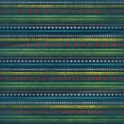 Let's Get Festive- Dark Blue Patterned Paper