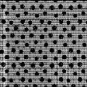 Snowflake Overlay Template 003