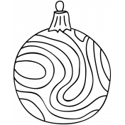 Ornament Doodle Template 007