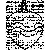 Ornament Doodle Template 012