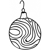 Ornament Doodle Template 014