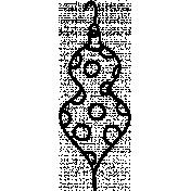 Ornament Doodle Template 018