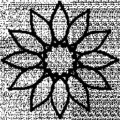 Ornament Doodle Template 022