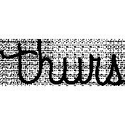 Toolbox Calendar Doodle Template 099