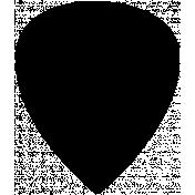 Arrow Doodle Shape Mask Template 013
