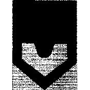 Arrow Doodle Shape Mask Template 027