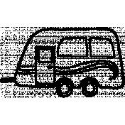 Toolbox Calendar Doodle Template 171