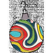 Let's Get Festive- Colorful Ornament 1