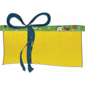 Let's Get Festive- Yellow Gift Doodle