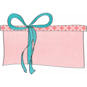 Let's Get Festive- Gift Doodle 4- Pink and Blue