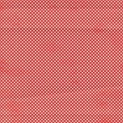 Let's Get Festive- Red Dots Paper