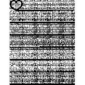 Toolbox Calendar Doodle Template 276