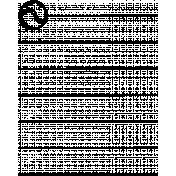 Toolbox Calendar Doodle Template 301
