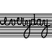 Toolbox Calendar Doodle Template 343