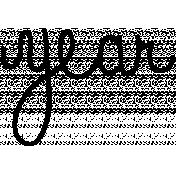 Toolbox Calendar Doodle Template 364