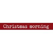 Days of December Words 10