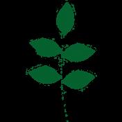 Spring Day Leaf Stamp 04