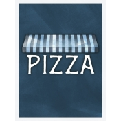 Pizza Awning 3x4 Card