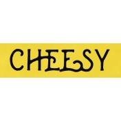 Cheesy Word Strip