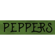 Peppers Word Strip