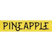 Pineapple Word Strip
