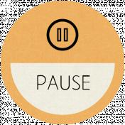 Pause Word Art