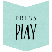 Press Play Word Art