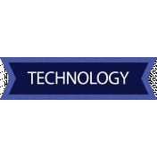 Technology Word Art