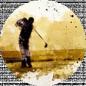Golf Circle Golfer