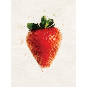 Strawberry 3x4 Card