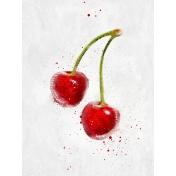Cherries 3x4 Card