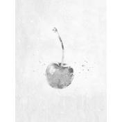 Cherry 3x4 Card- Pencil