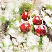 Cherry Mini Kit Paper- Tree Branch
