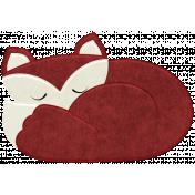 Thankful Harvest Sleeping Fox