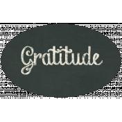 Thankful Harvest Gratitude Label