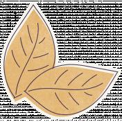 Thankful Harvest Leaf Sticker 2