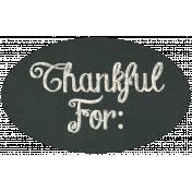 Thankful Harvest Chalkboard Label 3