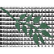 Country Wedding Green Velvet Leaf