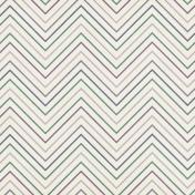 Country Wedding Chevron Stripes Paper