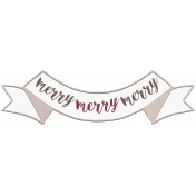 Cashmere & Cocoa Merry Banner